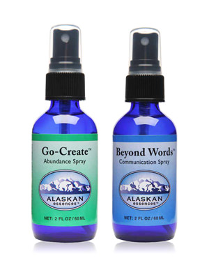 Alaskan Essences: Beyond Words und Go-Create Spray